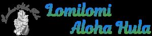 lomilomi aloha hula(ロミロミアロハフラ )ロゴマーク
