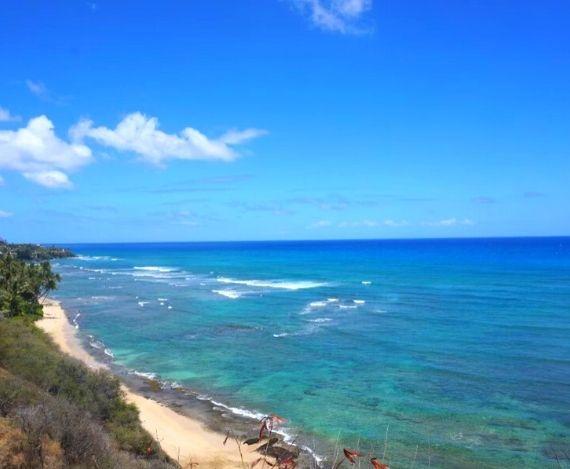 スライド写真 ハワイの海